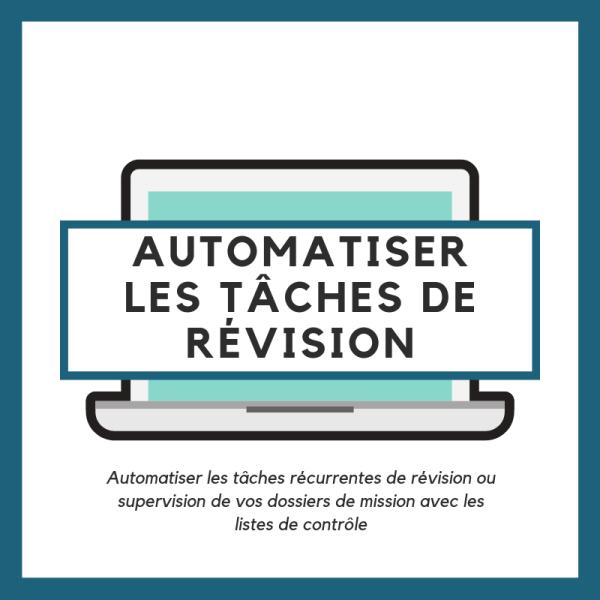 Automatiser les tâches de révision